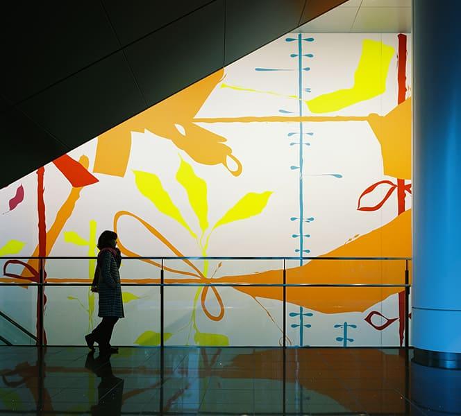 Le rideau de Nagoya(名古屋のためのカーテン)